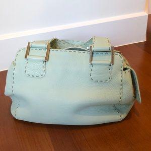 Vintage Fendi bag in Tiffany Blue